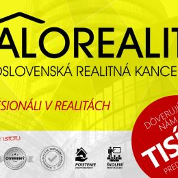 Ponúkame na predaj veľkometrážny tehlový trojizbový byt v osobnom vlastníctve v tehlovom bytovom dome v Ladomerskej Vieske, časť Vieska, pár minút od ...