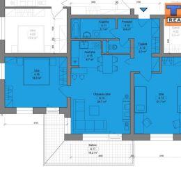 Na predaj trojizbový byt v novostavbe tehlového, zatepleného bytového domu s výťahom. Bytový dom sa nachádza na Veltlínskej ulici, v Pezinku. ...
