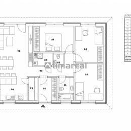 Ponúkame 4 izbový bungalov v novej lokalite Richtárske na 5 á pozemku. RD bude prízemný, bezbariérový, nepodpivničený s valbovou strechou. Napojený ...