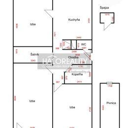 Ponúkame na predaj zrekonštruovaný, 3-izbový byt v osobnom vlastníctve v mesta Šaľa na ulici M.M.Hodžu. Byt o rozlohe 82m² sa nachádza na 2/3 ...