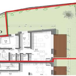 """Predáme 3.izb. byt v tehlovej novostavbe v centre Svätého Jura s rozlohou 77,5m2. (byt B)Byt bude odovzdaný v prevedení """"holo byt"""". Zhotoviteľ vie ..."""