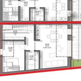 Predáme 2.izb. byt v tehlovej novostavbe v centre Svätého Jura s rozlohou 75m2. (byt C)K bytu prislúcha záhrada vo veľkosti 31m2. Nachádza sa v ...