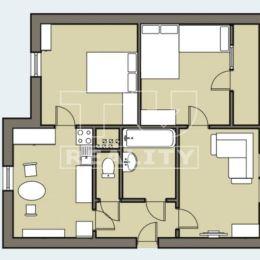 EXKLUZÍVNE NA PREDAJ PRÍJEMNÝ 3 – IZB. BYT /72 m2/ S LODŽIOU, ktorý sa nachádza na 6./8.posch., v panelovom bytovom dome, na sídl. Sekčov – Sibírska ...