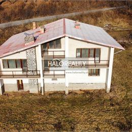 Ponúkame na predaj rozostavaný neskolaudovaný rodinný dom v obci Rimavská Baňa, ktorý má 608 m². Dom sa nachádza na pozemku o rozlohe 4130m². Je ...