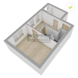 Ponúkame na predaj 1,5 izbový byt s lodžiou v kľudnej lokalite mesta, situovaný na treťom poschodí päťposchodového zrekonštruovaného bytového domu s ...