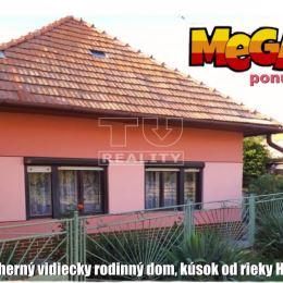 TUreality Vám ponúka nádherný rodinný dom vidieckeho štýlu, ktorý sa nachádza v malebnej obci Malé Kozmálovce v okrese Levice. Je vhodný na trvalé ...