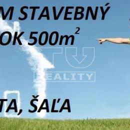 HĽADÁME STAVEBNÝ POZEMOK 500m2 - GALANTA...