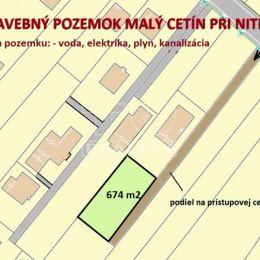 TUreality Vám ponúka NA PREDAJ veľmi dobre situovaný, pekný stavebný pozemok vo vyhľadávanej lokalite v Malom Cetíne pri Nitre s podielovou ...