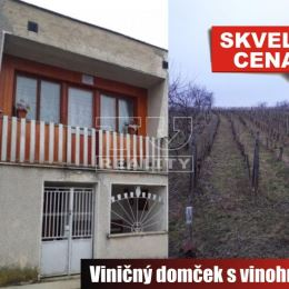 Na predaj murovaný viničný domček v pôvodnom ale v zachovalom stave, vhodný ako víkendová relaxačná chalupa, ktorý sa nachádza v obci Podlužany. Dom ...