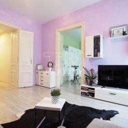 TUreality Vám ponúkajú NA PREDAJ veľmi pekný a svetlý 2 - izbový byt so zariadením, ktorý prešiel kompletnou rekonštrukciou v mestskom tehlovom ...