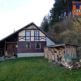 Na predaj rekreačnú chatu na samote o celkovej výmere 8110m2. Nachádza sa v tichom, slnečnom prostredí, obklopenom horami, s pekným výhľadom do ...