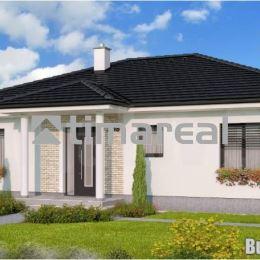 Ponúkame na predaj novostavbu nízkoenergetického rodinného domu Bungalov 333+T s pôdorysným rozmerom 13x10m, zastavanou plochou 151,5 m2, úžitkovou ...
