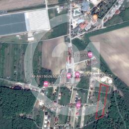 Predaj pozemku s výmerou 4013 m2 len 150m od termálneho kúpaliska v Podhájskej.Pozemok je možné odkúpiť v celku v hodnote 50€/m2, alebo na prvú a ...