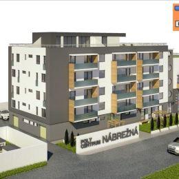 Na predaj posledné 3 byty vyššieho štandardu, novostavby, v širšom centre, na ulici Nábrežná v Prešove: 1. byt – výmera 79 m2 (celková rozloha 169 ...