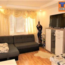 Na predaj slnečný, 2 izbový byt v Prešove na sídlisku II, 2. posch., po čiastočnej rekonštrukcii: plastové okná, murované jadro, stierky, plávajúce ...