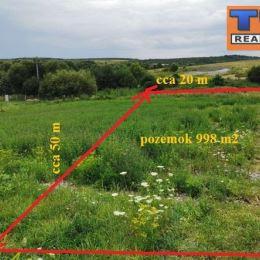 Na predaj stavebný pozemok v lokalite Košice- okolie, Ďurďošík s výmerou 998 m2 (cca 20m x 50m) plus podiel na prístupovej ceste. Pozemok je slnečný. ...