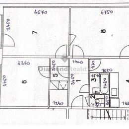 Na predaj 3 izbový byt v pôvodnom stave na ulici Slobody...