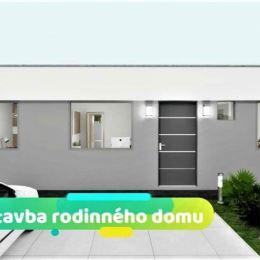 Novostavba, rodinný dom, všetky IS, pozemok 425 m2...