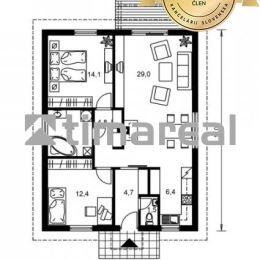 Ponúkame na predaj novostavbu 3i rodinného domu typ bungalov v Galante Kolónii - IBV Richtárske pole. Nachádza sa na rovinatom pozemku o rozlohe ...
