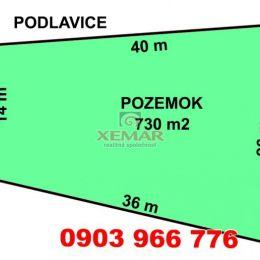Na predaj pozemok v Podlaviciach.
