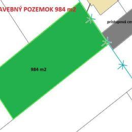 TUreality Vám ponúka NA PREDAJ lukratívny, rovinatý pozemok na výstavbu rodinného domu v tesnej blízkosti krajského mesta Nitra o výmere 984 m², ...