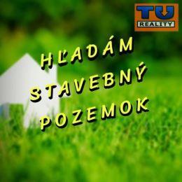 TUreality hľadá pre nášho klienta stavebný pozemok v Myjave a v okolí (max. 13 km od mesta).Preferujeme obce: Bohdanovce nad TT, Sucha nad parnou, ...
