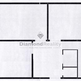 Na predaj veľký 3 izbový byt v pôvodnom stave na ulici Trieda SNP...