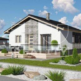 Exkluzívne novostavba menšieho bungalovu s pozemkom 500 m2 Necpaly