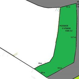 Na predaj rovinatý pozemok o výmere 5586 m2 v lokalite Žilina-Bánová, okres Žilina. Priamo k pozemku vedie asfaltová cesta s vynikajúcim prístupom do ...