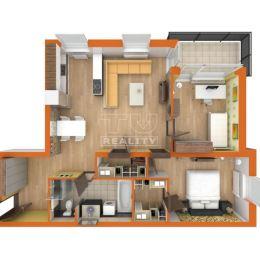 TUreality so súhlasom majiteľa ponúka na predaj novostavbu- tehlový byt s veľkou lodžiou a špajzou na Pannónskom háji na sídlisku východ v meste ...