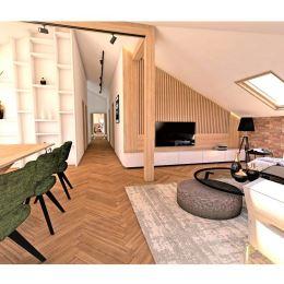 Ponúkame na predaj unikátny 3. izbový podkrovný, byt - výmera : 126 m2, v historickom centre, blízko Hlavnej ulice. Jedná sa o novostavbu bytu, ktorá ...